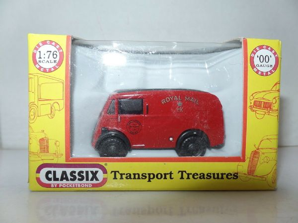Classix EM76644 1/76 OO Scale Morris J Van Royal Mail Post Office Red